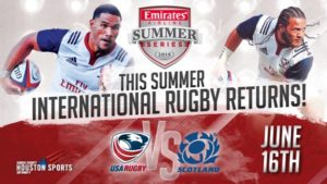 USA vs Scotland - Emirates Airline Summer Series